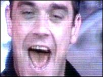 Robbie Williams at Knebworth Park