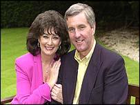 Pauline Prescott and her son Paul Watton