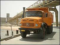 Iraqi dump truck
