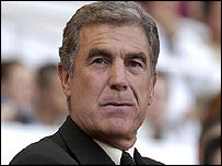 West Ham caretaker manager Trevor Brooking