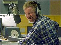 Noel Edmonds presents Radio 2's drive time show on Monday
