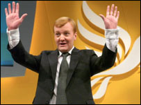 Leader of the Liberal Democrats Charles Kennedy