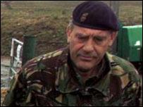 Brigadier Alex Birtwistle in Cumbria