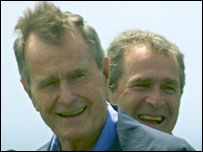 George Bush Snr, former President of the United States