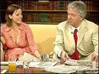 The newspapers were reviewed by Ruthie Henshall and Sir Peter Stothard