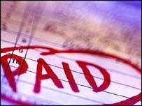 Paid invoice, Eyewire