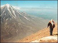 Kamchatka volcano scenery