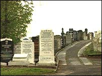 Jewish Cemetery in Prestwich, Greater Manchester