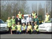 Car park watch volunteers