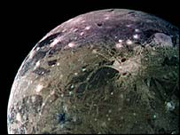 Largest moon in the Solar System, Nasa