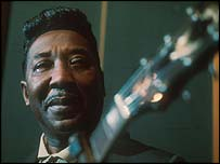 Blues legend - and slide guitar player - Muddy Waters