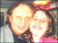 Stalker Ruth Tagg with Ken Dodd