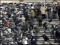 Crowd trouble at Avellino match