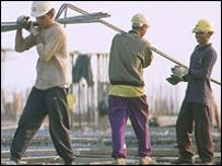 Мигранты за работой