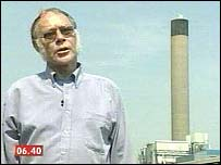 Dave Morgan lives near a huge waste incinerator