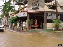 Flooding in Cabo San Lucas