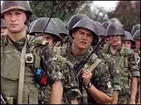 Ukrainian marines - Nato