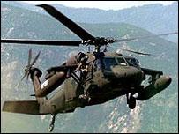 Helicoptero Black Hawk