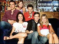 UK cast of Coupling