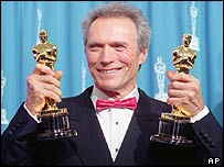 Clint Eastwood at the Oscars