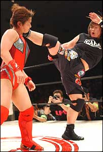 Professional Female Wrestling From Japan