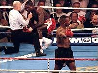 Mike Tyson v Frank Bruno 1996