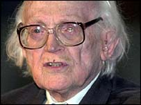 Former Labour Party leader Michael Foot