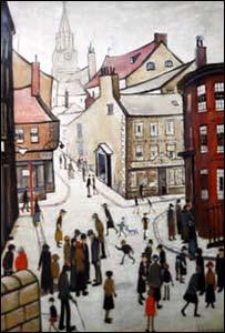 Lowry painting of Berwick
