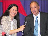 Tracey Logan speaks to Tim Berners-Lee