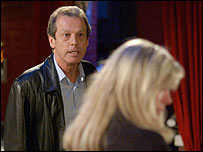 Dirty Den and Sharon in EastEnders