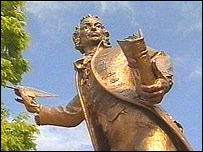Statue of Thomas Paine