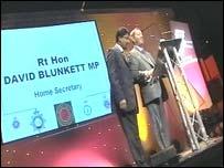 David Blunkett aided by NBPA president, Sgt Ravi Chand