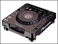 Pioneer CD mixing deck
