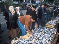 Fish market, Istanbul