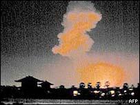 Bali bomb blast, October 2002
