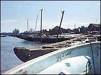 Bakassi fishing village