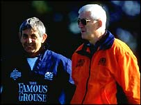 Ian McGeechan and Jim Telfer