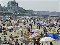 Margate beach
