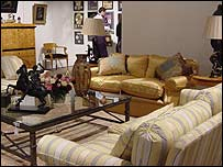 Sir Elton's living room