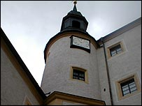 The Colditz clock tower
