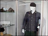 A false uniform in the castle museum