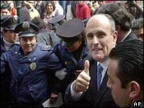 Rudolph Giuliani in Mexico City