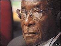 President Robert Mugabe of Zimbabwe