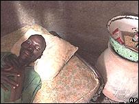 David Daudu, enfermo de SIDA en el norte de Nigeria