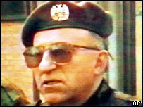 Major General Vladimir Lazarevic has been notified of mounting evidence of possible war crimes
