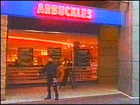 Arbuckles restaurant at Star City