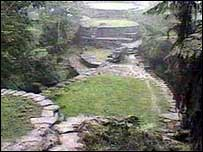 The Lost City ruins where Mr Scott was snatched