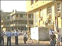 Scene of the Baghdad bomb blast