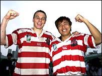 Andy Miller and Daisuke Ohata