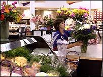 Wal-Mart florist